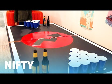 Build Your Own Portable Beer Pong Table