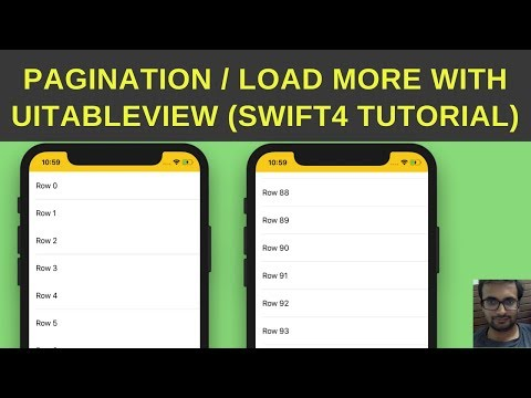 Pagination with UITableVIew - Load more content UITableView - Swift 4