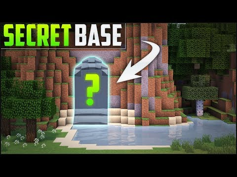 Minecraft: How To Build A Secret Base Tutorial (#8)