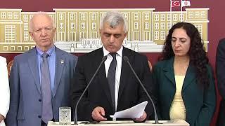Ömer Faruk Gergerlioğlu & KHK'lı Milletvekilleri İle Beraber Basın Toplantısı & 11 Ekim 2018