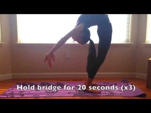 How to get a CRAZY flexible back!!