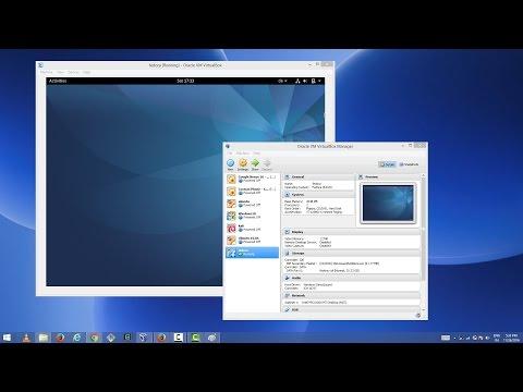 How to Install Fedora 25 on VirtualBox in Windows 8 / Windows 10