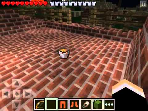 Minecraft PE lava bucket