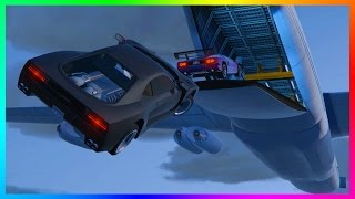 GTA ONLINE 'FAST & FURIOUS' CARGO PLANE W/ NEW UNRELEASED DLC CARS, TITANS VS CARGO PLANES AND MORE!