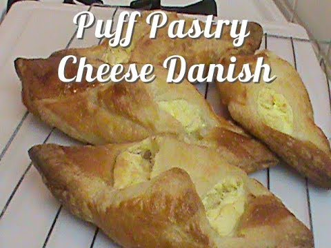 Puff Pastry Cheese Danish