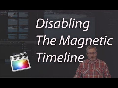 Final Cut Pro X: Disabling Snapping on The Magnetic Timeline