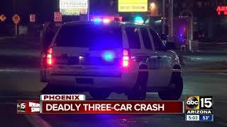 One killed in multi-vehicle crash in Phoenix