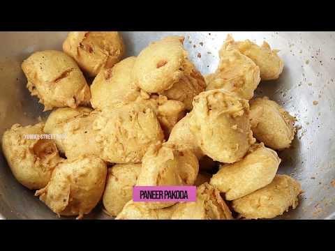 Paneer Pakoda Recipe | How to Make Panner Pakoda Recipe | Yummy Street Food