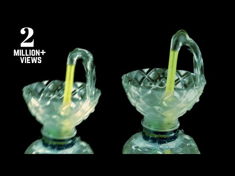 Make Non-Stop Heron's Fountain using Plastic Bottle   DIY Water Fountain