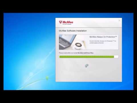 How to install, Activate McAfee antivirus Plus (MAV)