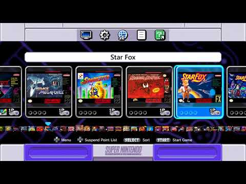 The Games I put in my SNES Classic