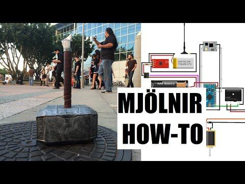 How to Make Thor's Hammer - Mjolnir
