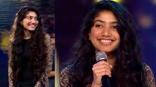 Sai Pallavi Most Blushing Moment While Talking On Stage @Award Function | Filmy Monk