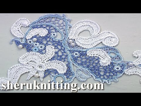 Crochet Irish Lace  Tutorial 54
