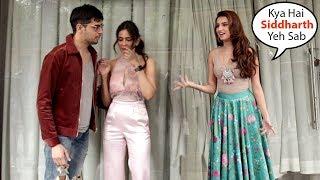 Tara Sutaria JEALOUS Seeing BF Siddharth Malhotra Flirting With Rakul Preet During FILM Promotion