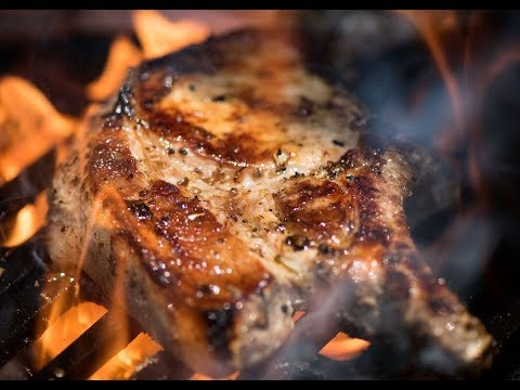 Lemon Garlic Marinated Pork Chops