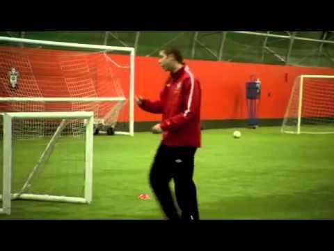 Soccer Coaching Dribbling Drill  Skills Corridor Plus
