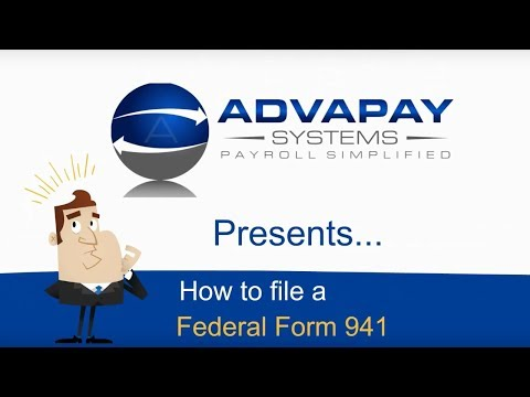 IRS Form 941 - Basic Overview for New Employers