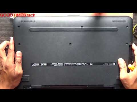HP Notebook | N8M18PA | How to replace HDD.