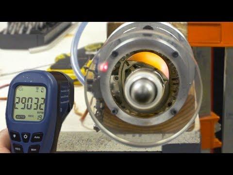 See Thru Rotary Engine MAX RPM - 29000 (Wankel Engine)