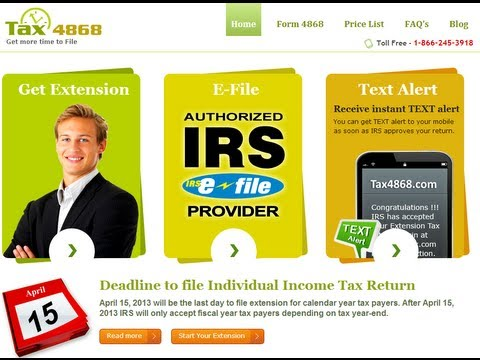 How to e-file your Personnel Income Tax Extension?