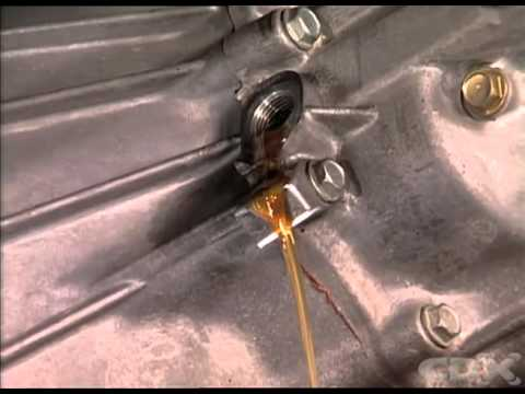 Gearbox Oil level check