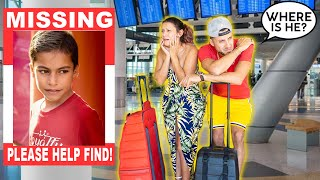 Our SON FERRAN Went MISSING At The Airport!! WHERE IS HE!?   The Royalty Family