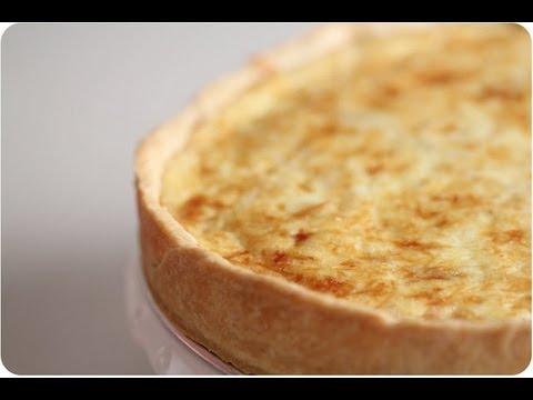 How to Make Quiche - Cheese Quiche w/ Super flaky crust Recipe