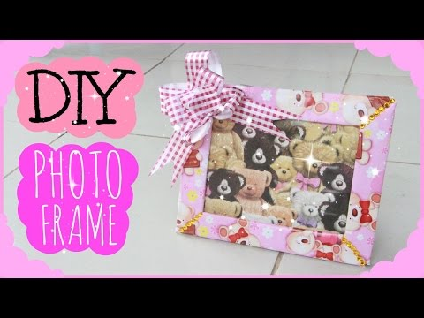 Make Your Own Photo Frame! | Simplee DIY