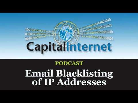 E-mail Blacklisting of IP Addresses