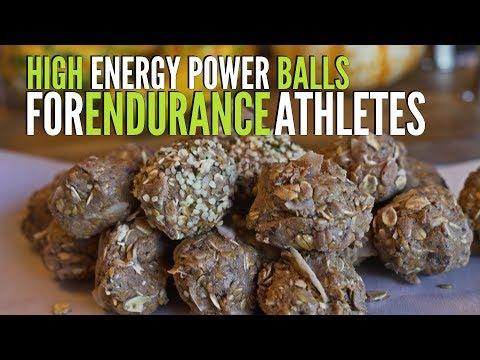 High Energy Power Balls for ENDURANCE Athletes