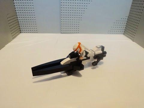 How To Build a Lego Destiny Sparrow
