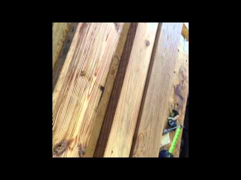 Mystery species of Super dense reclaimed barn wood lumber