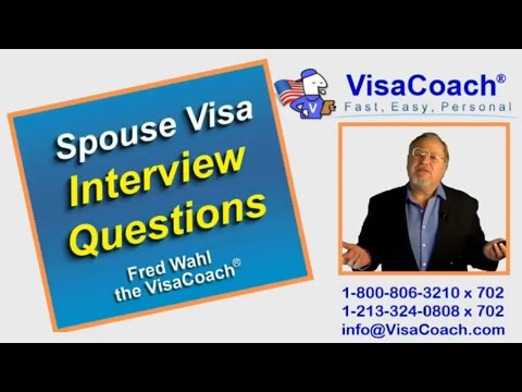 CR1 Spouse Visa Sample interview questions cr111