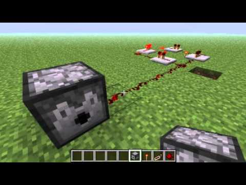 Minecraft - How to make a redstone repeater(Clock)