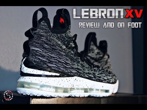 LEBRON 15 (ASHES) REVIEW AND ON FOOT