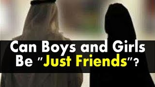 "Can Boys and Girls Be ""Just Friends""? 