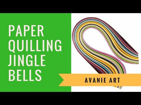 How To Make Paper Quilling christmas bells - christmas presentation ideas (2017)