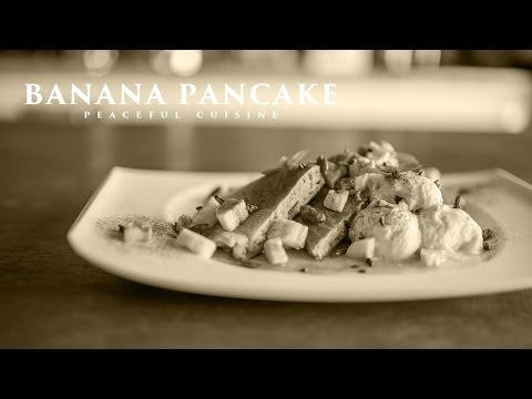 [No Music] How to Make Banana Pancake