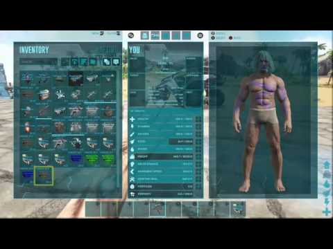 Ark Survival Evolved How To Spawn Items with no ID, no long command needed
