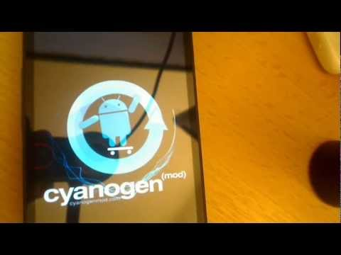 Install Android 2.3 Gingerbread on HTC HD2 with Clockwork mod on NAND