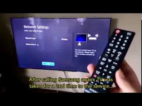 Samsung TV UE55H7000ST - Wifi Problems (Part 3)