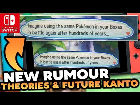 Pokémon Switch RUMOURS! - USUM Mentions of Future & KANTO GONE DUE TO CINNABAR THEORY!