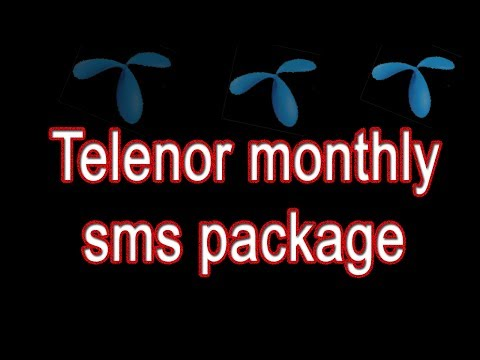 telenor sms packages,telenor monthly sms package,telenor 30 day sms package,urdu tutorials,haseeb
