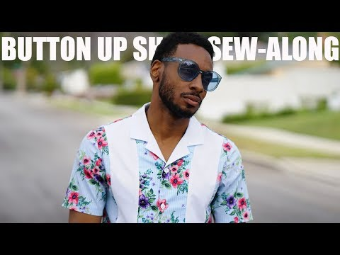 BUTTON UP SHIRT SEW-ALONG