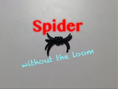 EASY Spider Without the Rainbow Loom