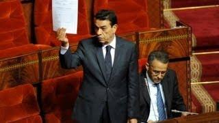 الوزير الوفا يشعل البرلمان بتصريح خطير