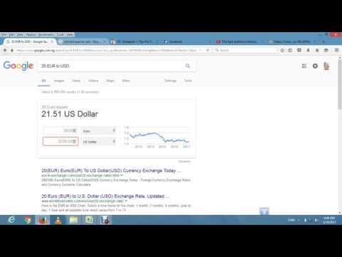 HOW TO CONVERT CURRENCIES IN MICROSOFT EXCEL