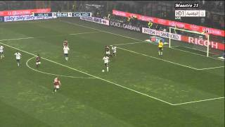 AC Milan vs Cagliari - Highlights - 2010/2011 - Fecha 37
