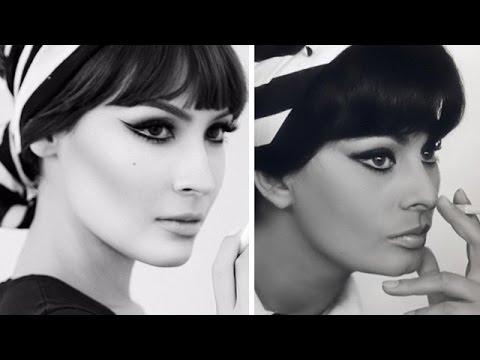 Sophia Loren Makeup Look: NikkieTutorials Collab